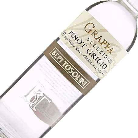 Bepi Tosolini Grappa da Pinot Grigio