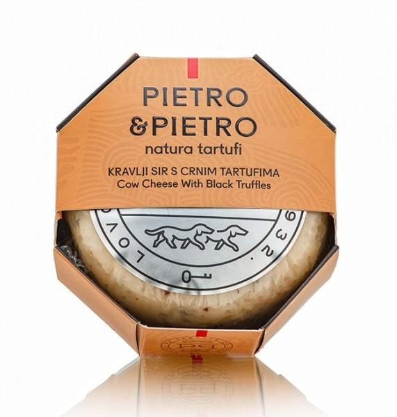 Pietro & Pietro Kuhkäse mit schwarzem Trüffel