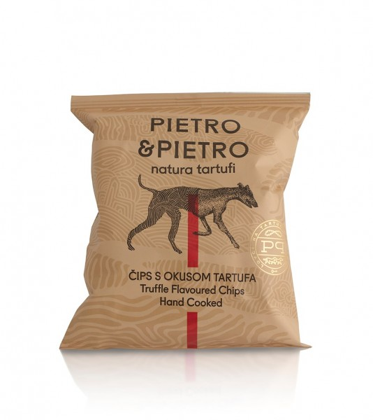 Chips mit weißem Trüffel