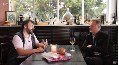 Bruno Trapan im kroatischen TV